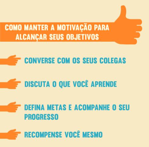 COMO MANTER A MOTIVAÇÃO PARA ALCANÇAR SEUS OBJETIVOS